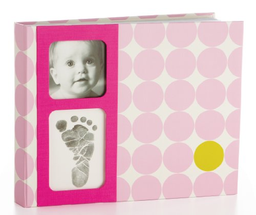 Pearhead Babybook, Pink