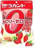 ラカントカロリーゼロ飴シュガーレスいちごミルク味48g