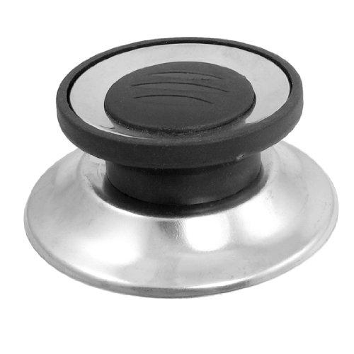 negro-tono-plateado-utensilios-de-cocina-olla-sarten-sarten-tapa-repuesto-perilla