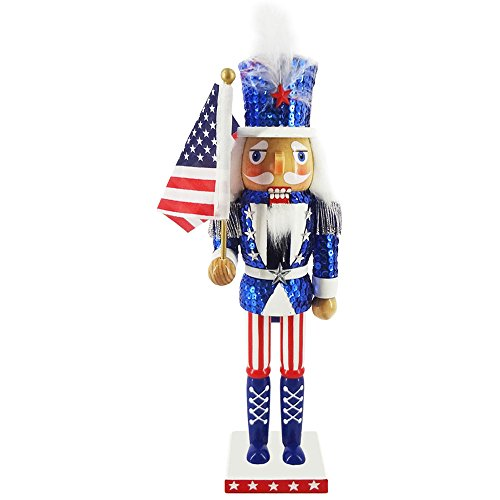 Red White and Blue Patriotic Nutcracker