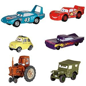 Amazon.com: Disney Cars 6-pc. Figure Set: Toys & Games