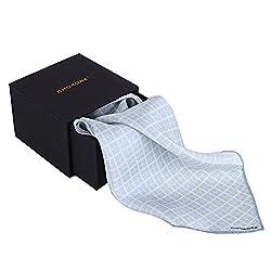 Chokore Silk Plaids line Men's Pocket Square