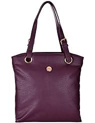 The Blue Pink Women's Purple Color Hand Bag (JEN-06)