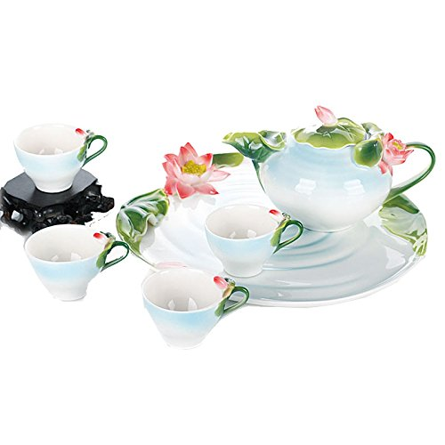 Buy Cheap Enamel Porcelain Fashion Creative Hand Painted Green And