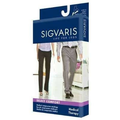 Sigvaris 863Cx1O66/S Select Comfort 30-40 Mmhg Open Toe Knee High Sock With Silicone Top Band Size: X1