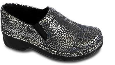 Klogs Women's Naples Shoe Silver Dots 8 M US