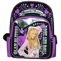Hannah Montana: Large School Backpack / Black & Purple