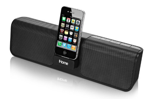 iHome iP46 Portable Speaker System for iPod (Black)