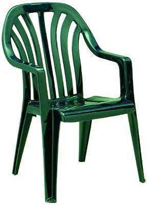 BEST 18090930 Stapelsessel Laredo, grün von BEST - Gartenmöbel von Du und Dein Garten
