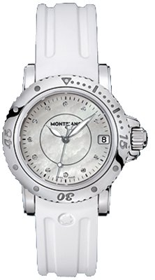 Montblanc Sport Lady Mother of Pearl Dial Ladies Watch 103893