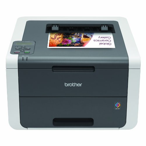 Brother Printer HL3140CW Digital Color Printer with Wireless Networking