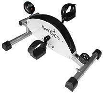 DeskCycle Desk Exercise Bike Pedal Exerciser White