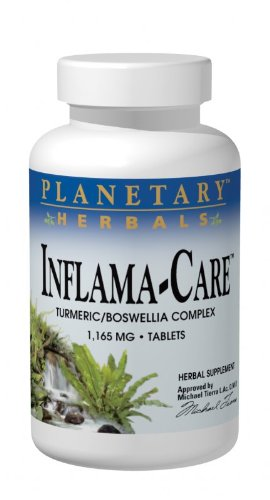 PLANETARY HERBALS Inflama-Care Nutritional Supplement, 120 Count