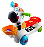 VTech - 3-in-1 Learning Zebra Scooter