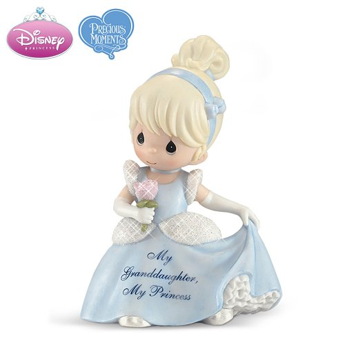Disney Precious Moments My Granddaughter Cinderella Figurine