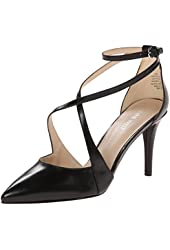 Nine West Women's Peacesign Leather Dress Pump