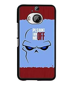 Fuson 2D Printed Quotes Designer back case cover for HTC One M9 Plus - D4283