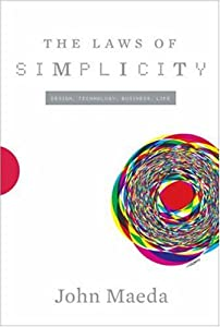 """Cover of """"The Laws of Simplicity (Simplic..."""