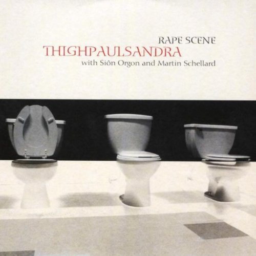 Original album cover of Rape Scene by Thighpaulsandra