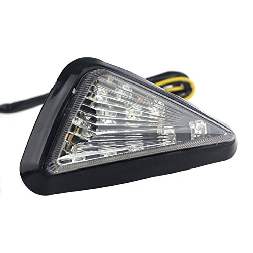 Doinshop (Tm) New Fashion 2X Universal Motorcycle Accessory Waterproof Led Turn Signal Yellow Light