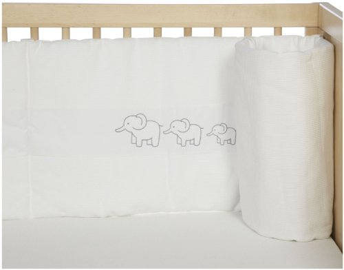 JoJo Maman Bebe Elephant Embroidered Bumper (Discontinued by Manufacturer)