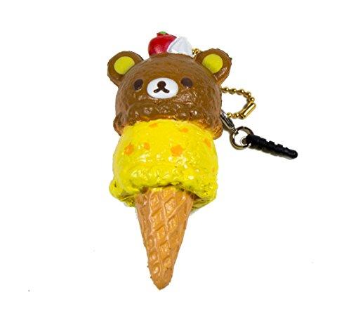 Authentic NIC Rilakkuma Double Scoop Ice Cream Squishy Rilakkuma Sweets Second Edition (Rilakkuma Ice Cream compare prices)