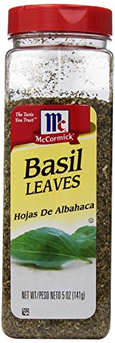 McCormick Basil Leaves, 5-Ounce