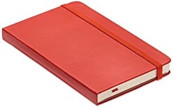 Moleskine Pocket Hard Cover Plain (Red)