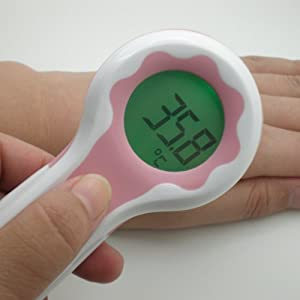 Sh-t1 Pink Color Non-contact Infrared Body Surface Forehead Thermometer Temperature Laser