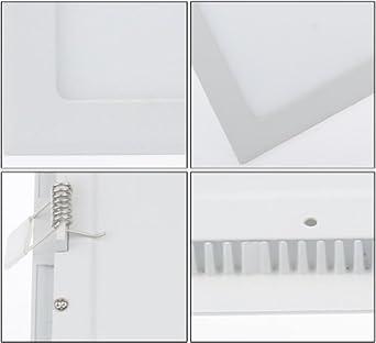 s miniwatts 12w led plafond carr carr downlight panneau avec multifonction multifonction. Black Bedroom Furniture Sets. Home Design Ideas