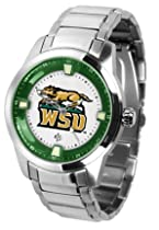 Wright State Raiders Titan Steel Watch