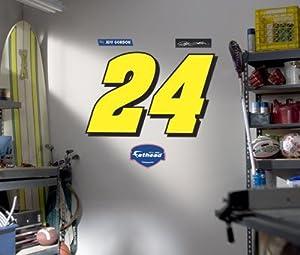 NASCAR Jeff Gordon 24 - Logo by Fathead