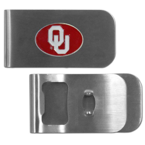NCAA Oklahoma Sooners Bottle Opener Money Clip