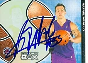 Rafael Araujo Autographed Hand Signed Basketball Card (Toronto Raptors) 2005 Topps... by Hall of Fame Memorabilia
