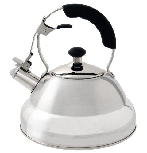 Wesco Classic Line Brushed Stainless Steel 2 Litre Stove Top Kettle