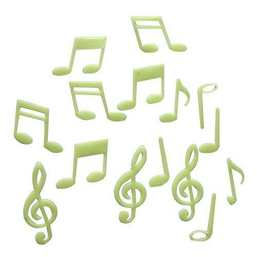 Leuchtsticker-Noten-Tolles-Geschenk-fr-Musiker