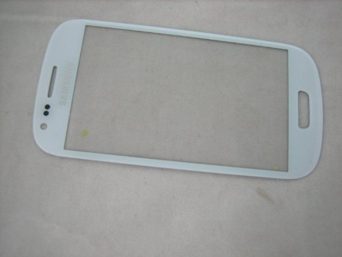 For Samsung Galaxy S3 Siii Mini Gt-I8190 White ~ Front Glass (No Amoled Screen) ~ Mobile Phone Repair Part Replacement
