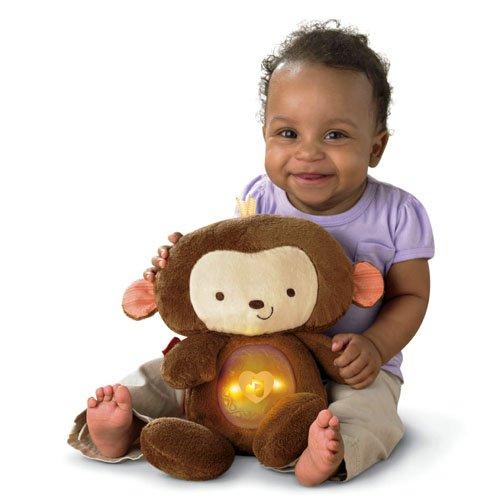 Fisher Price Baby Toys : Fisher price snugamonkey sleepytime plush baby toy toddler