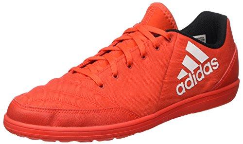 Adidas X 16.4 Street Scarpe da Calcio Uomo, Arancione (hi-res Red/ftwr White/power Red), 45 1/3 EU
