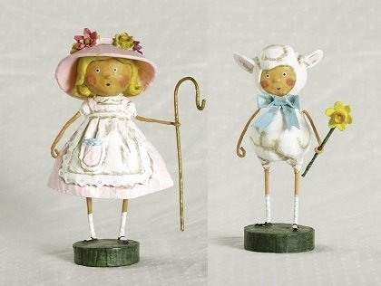 Little Bo Peep and Little Lost Lamb by Lori Mitchel 33163/33164