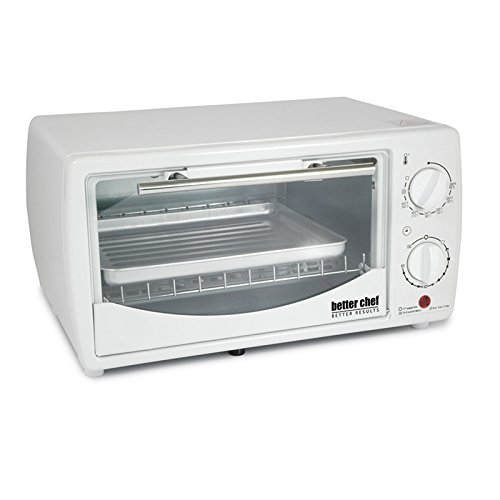 0.32 Cubic Foot Toaster Oven Broiler Color: White (White Broiler Oven compare prices)