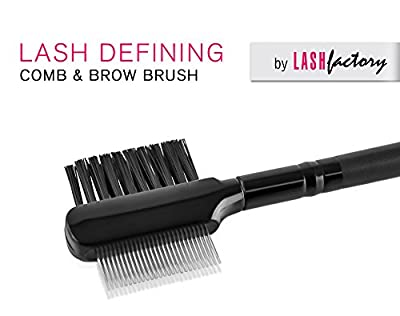 Cheapest Lash Defining Comb by Lash Factory, Premium Brow Brush and Eyelash Comb by Lash Factory - Free Shipping Available
