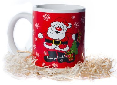 Christmas Mugs - Funny Coffee Mugs Make Great Secret Santa Gifts & Office Party