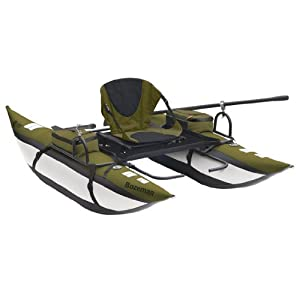 Classic Accessories Bozeman Inflatable Pontoon Boat With Backpack by Classic Accessories