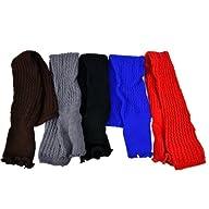 Zeagoo Women's Knit Stocking Stripe L…