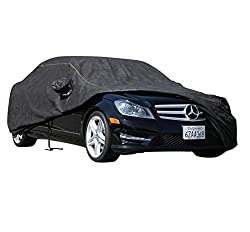See XtremeCoverPro 100% Breathable Car Cover for Select Infiniti Q50 Q50S Hybrid Sedan 2014 2015 (Jet Black) Details