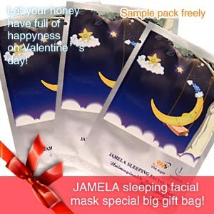 $1 Sleeping Facial Mask Sample x5 Pack 1 Week Usages by Rh8 Jamela Skin Care