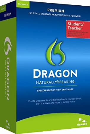 Dragon NaturallySpeaking Premium 11 Student Edition