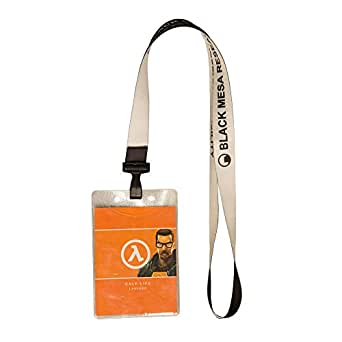 Amazon.com: Half Life 2 Black Mesa Lanyard One Size: Clothing