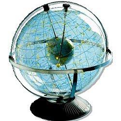 Transparent Celestial Globe